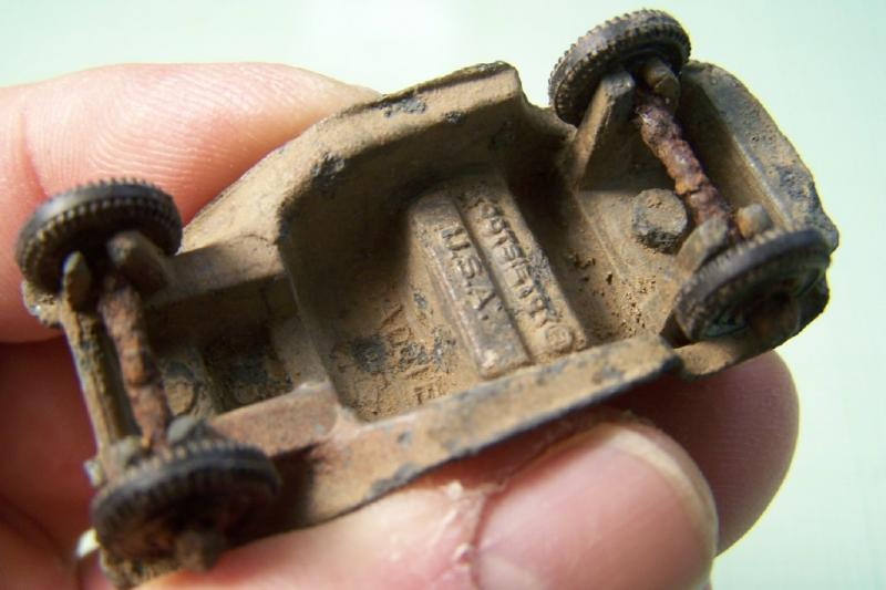 Tootsietoy Roadster Friendly Metal Detecting Forums