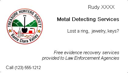 Business cards friendly metal detecting forums attached images colourmoves