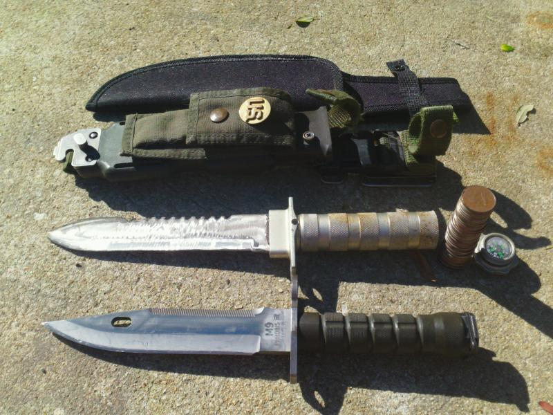 Survival knife digger mod - Friendly Metal Detecting Forums