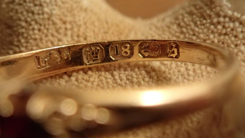 Gold with interesting hallmarks Friendly Metal Detecting Forums